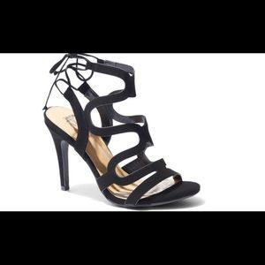 Wavy Strap Lace-Up Sandal  New York and Co.